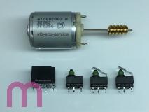 Reparatur Satz N360 für Lenksäulenverriegelung ECU J518 4F0905852B Audi 4F Q7 2004-2011