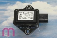 Duo Sensor für Querbeschleunigung und Drehrate G419 4F0907637 BOSCH 0265005278
