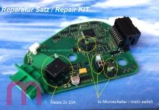 Reparatur Satz für Lenksäulenverriegelung ECU J518 4F0905852C 4F0905852D 4F0905852F Audi 4F Q7 2004-2011