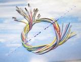 10x farbige Reparatur Leitung 50cm 0,35mm² 000979009E mit Kontakten N90764701
