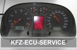 Reparatur Tacho LCD FIS Display VDO VW Transporter BUS T4 7D T5 7H Beleuchtung + Platine