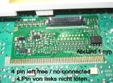 LCD FIS Display KIT für Jaeger Kombiinstrument Magneti Marelli